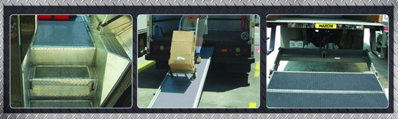 Non slip coating - Truck - ramp